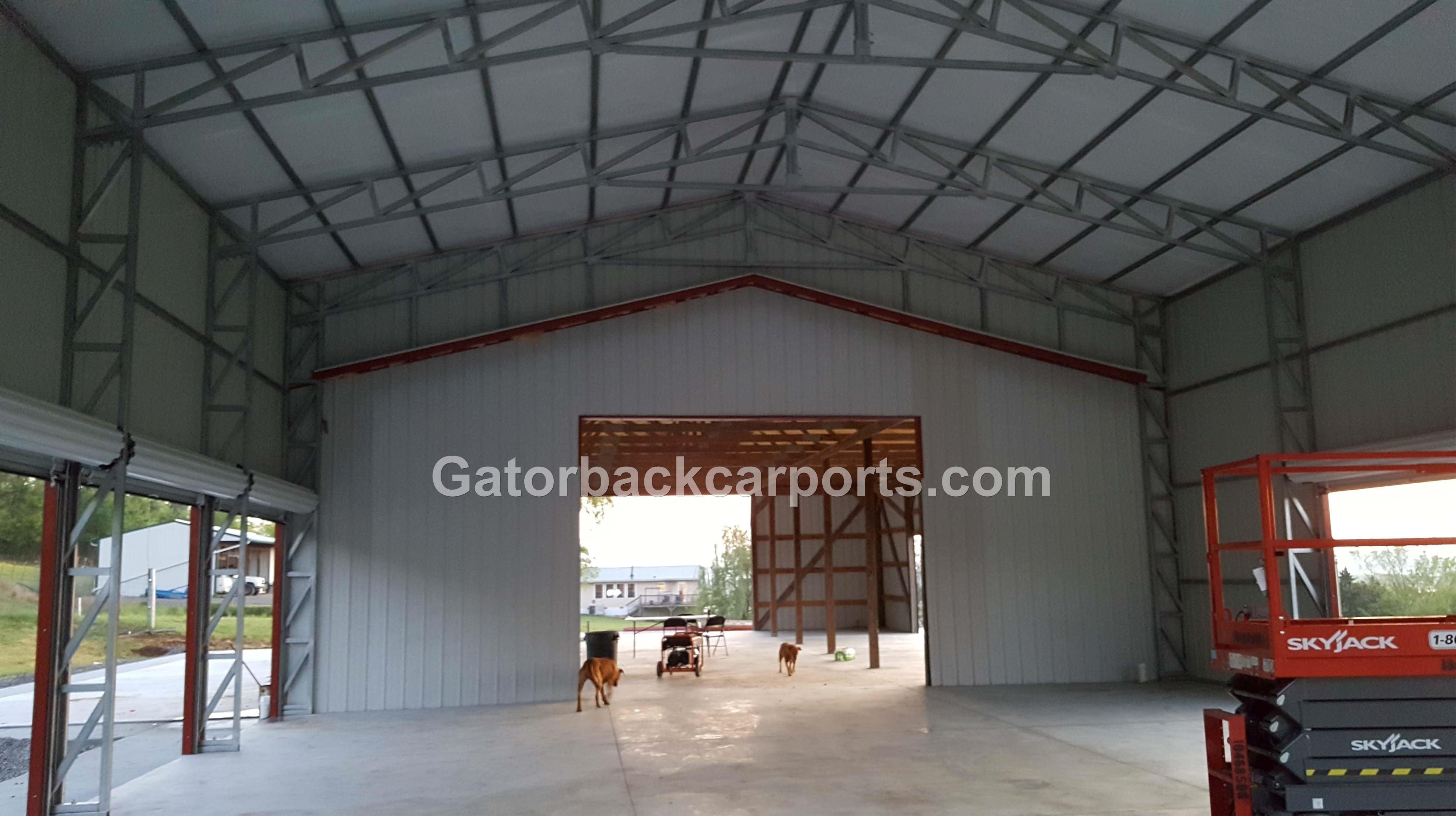 32 60 Wide Metal Buildings Gatorback CarPorts