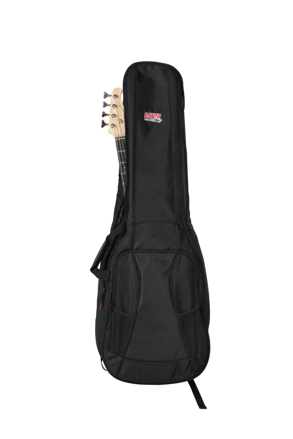 medium resolution of dual bass guitar gig bag gb 4g bassx2 gator cases