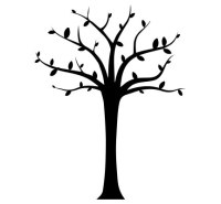 Wall Decals - Tree Black