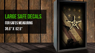 Safe Decals  Custom gun safe decals and safe stickers