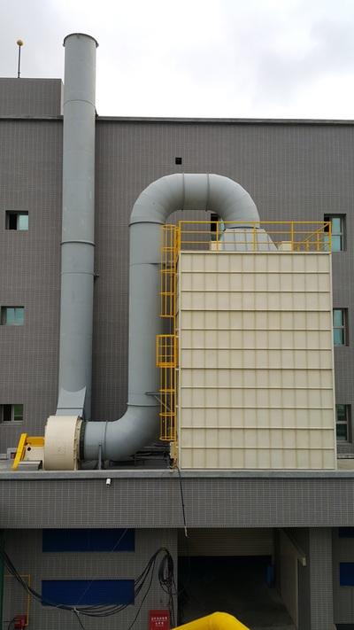 靜電式油煙處理設備實績 - 高群公害處理工程股份有限公司