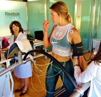 EKG on a Treadmill