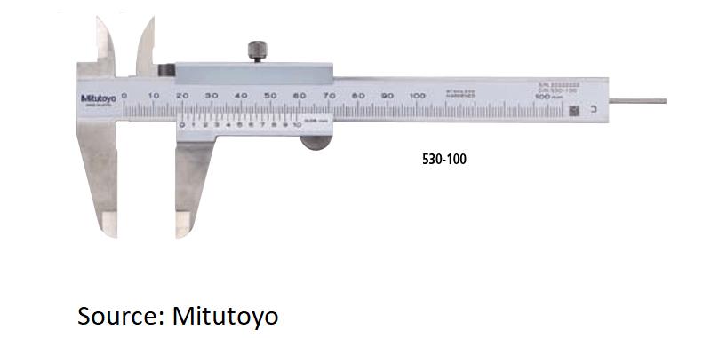 analog vernier caliper