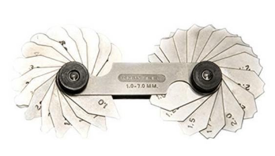 radius gauge kresteel
