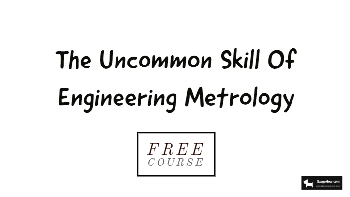 free course of metrology