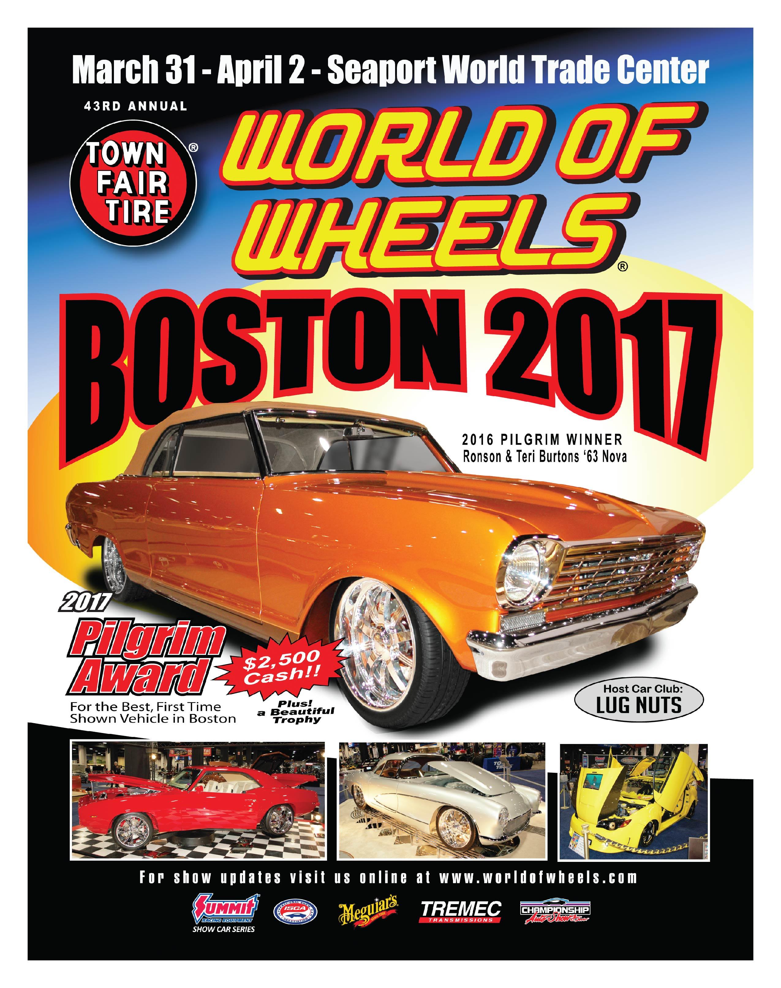Boston world of wheels 2017 at seaport world trade center for Craft fair boston 2017