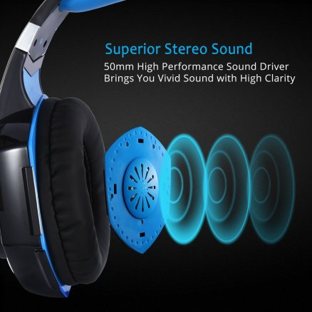 MPOW Gaming Headphones2