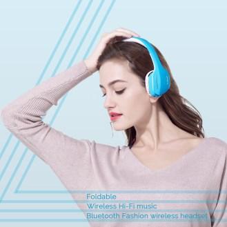 AUSDOM M07 On-Ear Headphones9