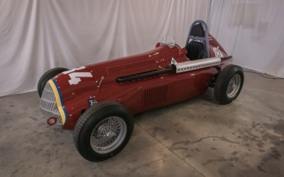 Tipo184, the world's most cost-effective way to feel like Fangio, makes its global debut at The London Classic Car Show