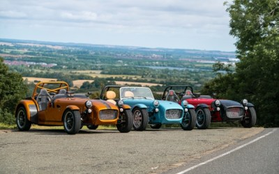 Caterham® launches new Seven 170, the lightest production Seven ever built