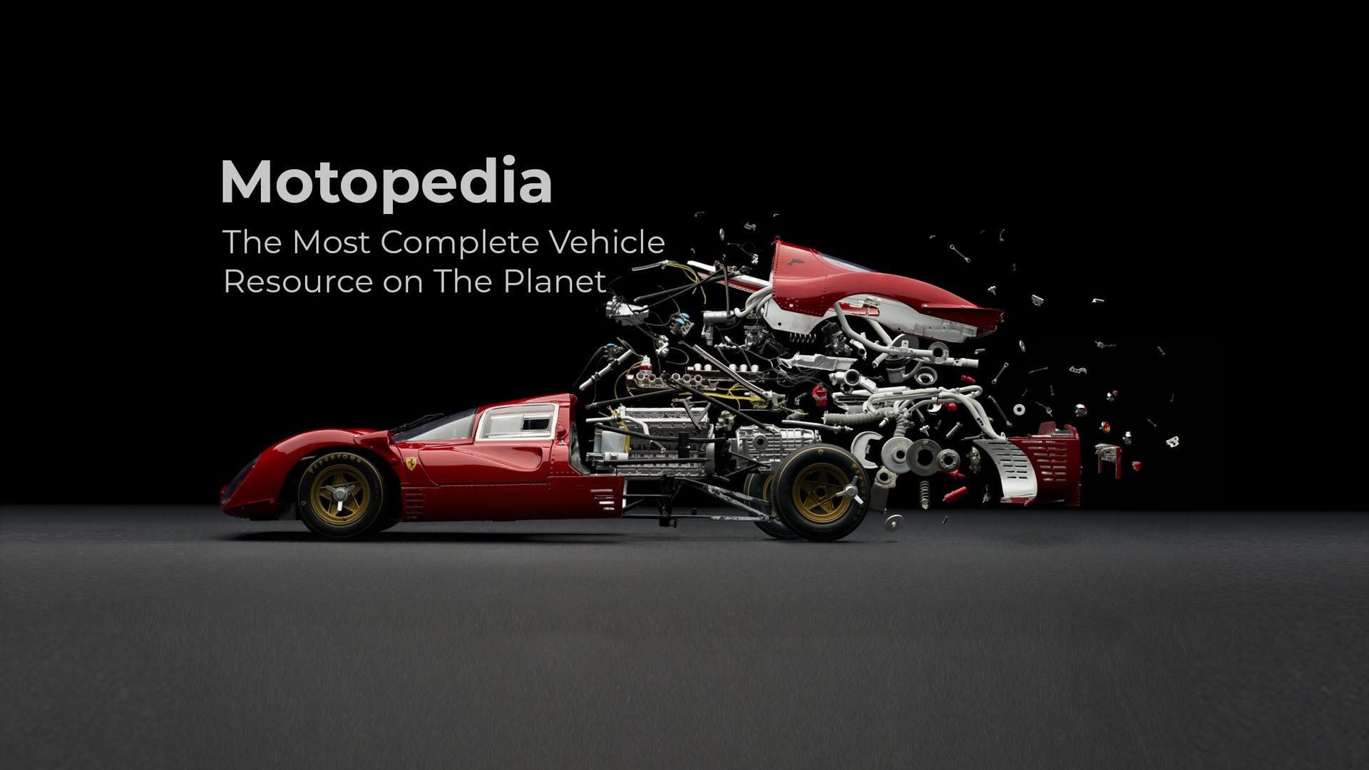 Motorpedia vehicle data