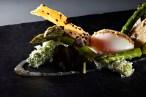 egg 62/60 green asparagus parmesan. (#1)