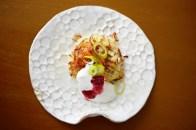 polnischer okonomiyaki & lamm / okonomiyaki polish style & lamb