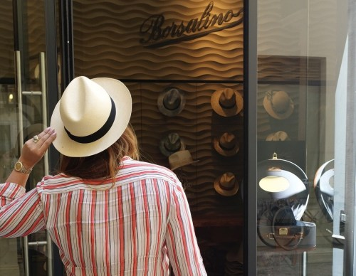 Valentina Bling Bling | Borsalino – The art of making exquisite hats…