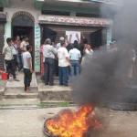 एमालेमा टिकट विवाद : ओली समूहद्वारा पार्टी कार्यालय आगजनी, कालोझण्डा र तालाबन्दी