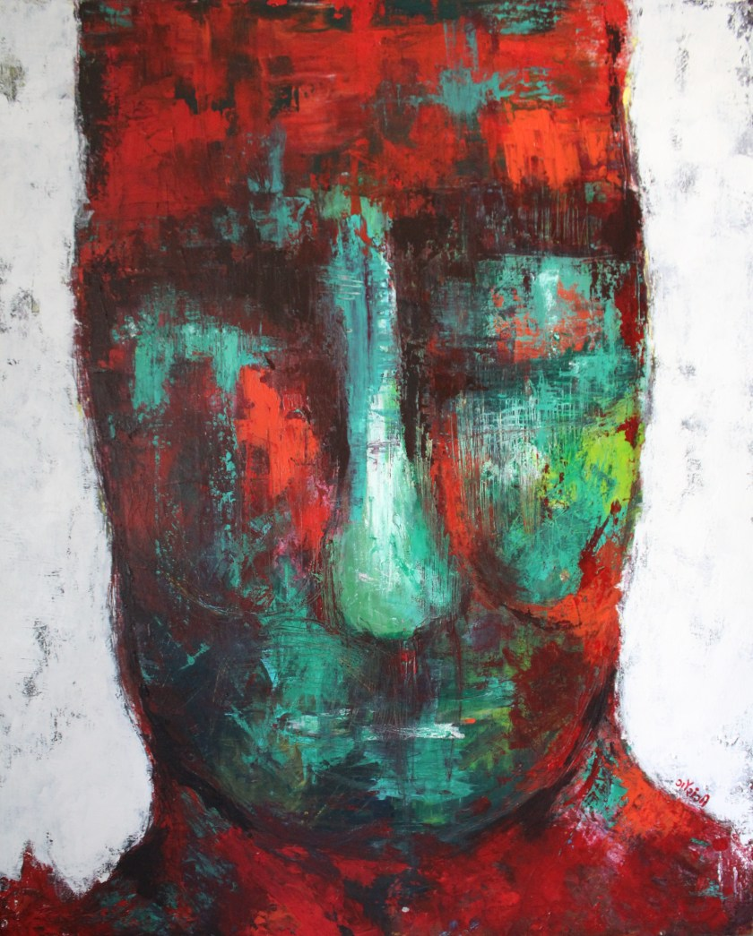 Title: Constantly feeling a loss Medium: Acrylic on canvas Size: 35.5*43.5 inches (2019) Artist: gaurangi mehta shah