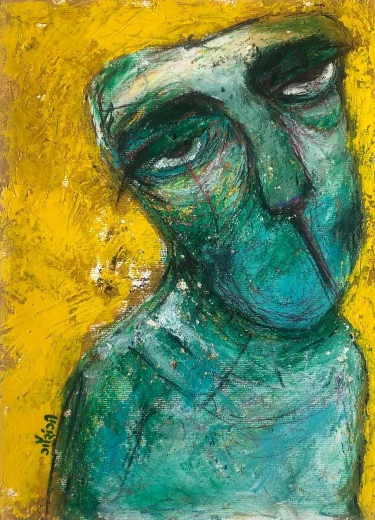 title: Succumbed yet enduring. Artist: gaurangi mehta shah