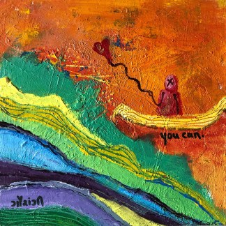you can. artist: gaurangi mehta shah