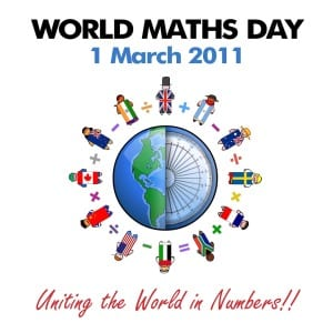world maths day 2011 logo