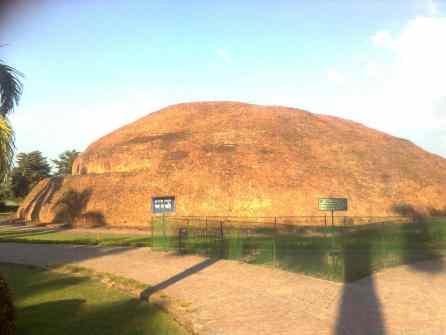 Ramabhar Stupa in Kushinagar