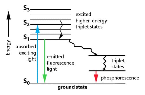 Consequences Of Light Absorption The Jablonski Diagram