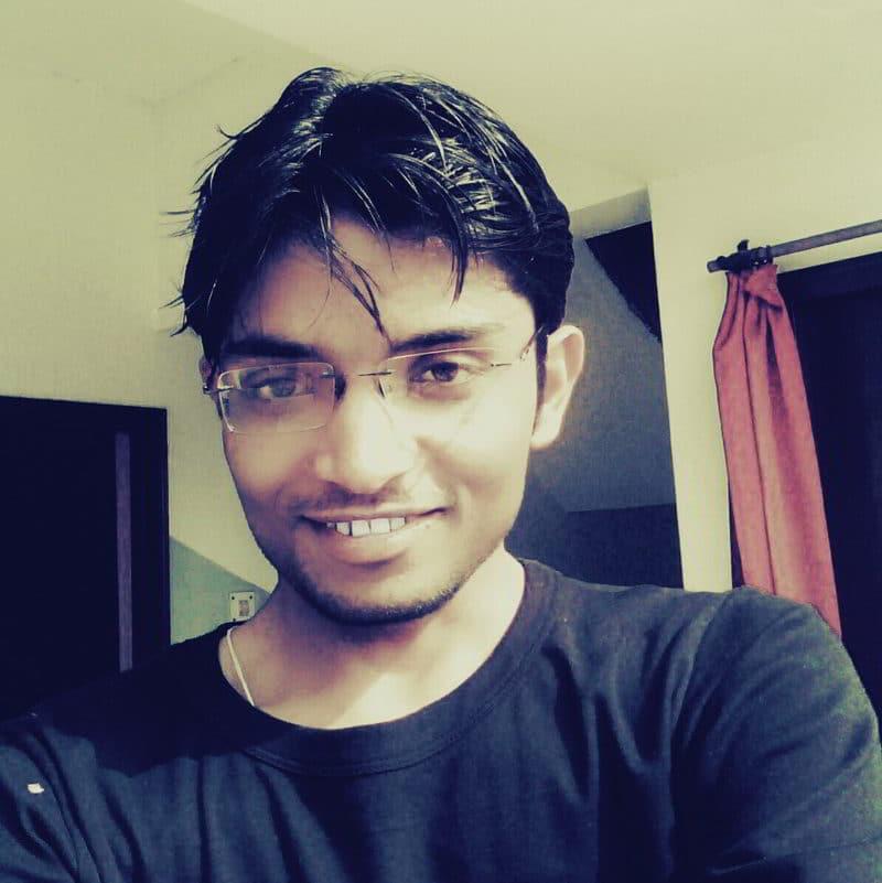 selfie of Gaurav Tiwari Optimized image