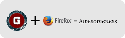 Gaurav Tiwari plus Firefox means awesomeness