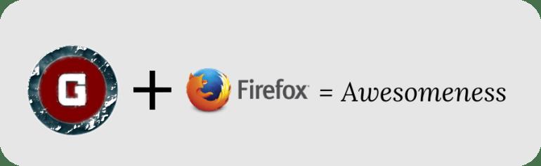 Gaurav Tiwari plus Firefox