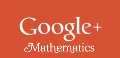google plus mathematics community
