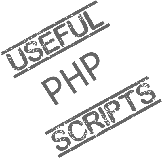 useful php scripts