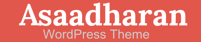 asaadhaaranwordpress theme logo