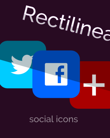 rectilinear icon pack