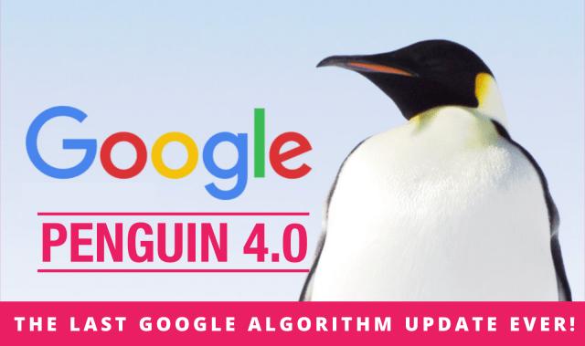 google penguin update 4.0 algorith image