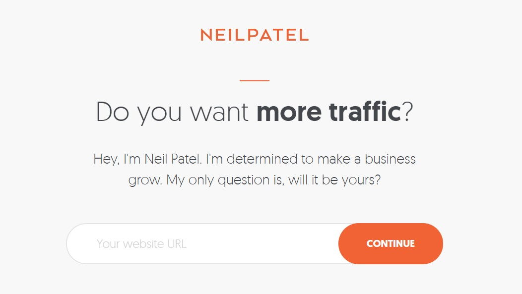 neilpatel sign - Design Essentials You Should Implement into Your WordPress Blog