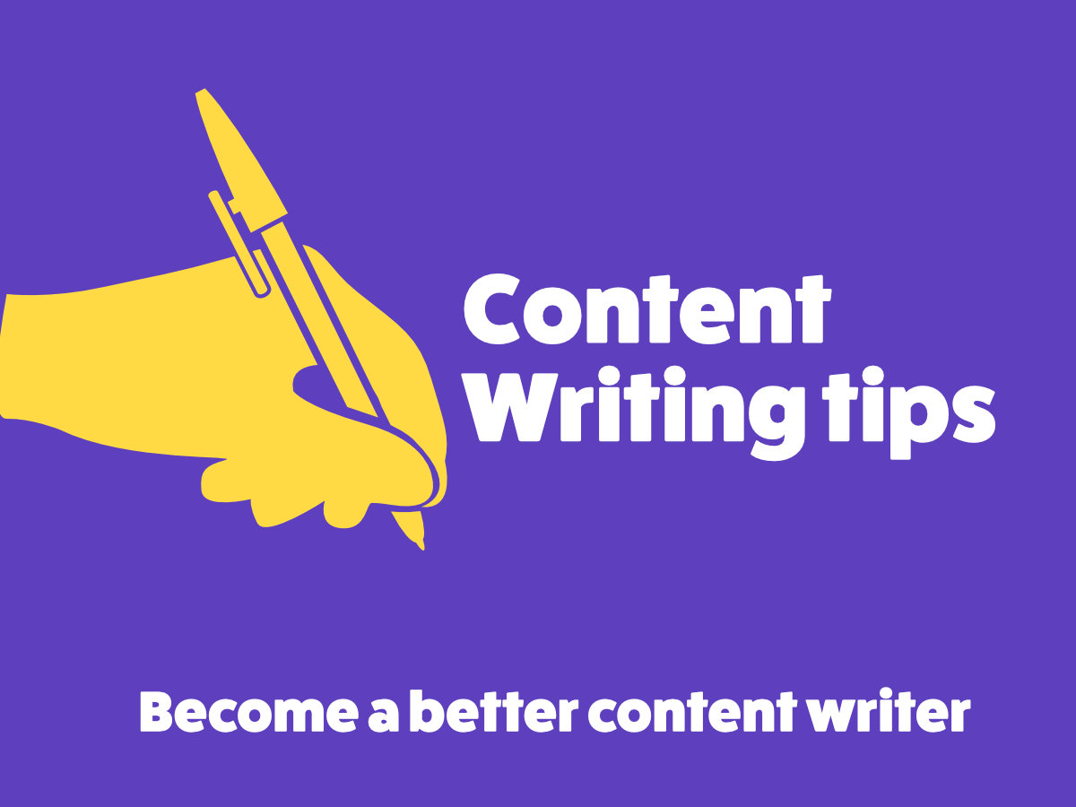 Become a better content writer with these Content Writing tips Gaurav Tiwari