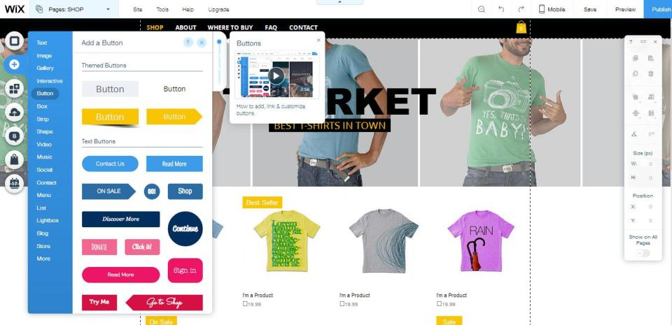 Why you should be using Wix Stores to create your Online Store? 3