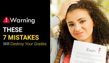 Avoid These 7 Mistakes and Score Good Grades 6
