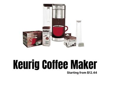 Best Keurig Coffee Maker Black Friday Deals