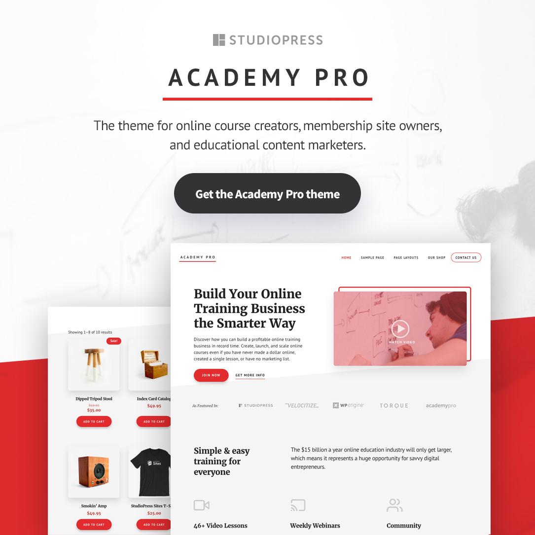 Academy Pro Genesis Themes