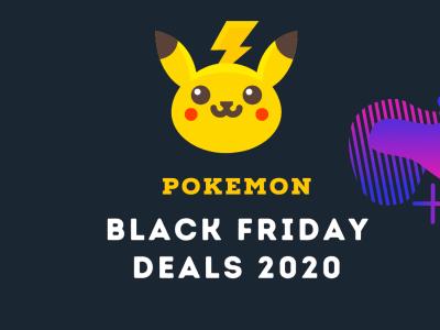 Pokemon Toys & Cards, Nintendo Switch Games — All Pokemon Black Friday Deals