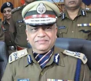पुलिस महानिदेशक अरविंद जैन