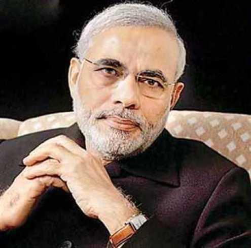 भारत के प्रधानमंत्री नरेंद्र मोदी