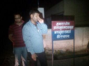 पुलिस द्वारा पीटे गये पत्रकार शंकर लाल गंगवार