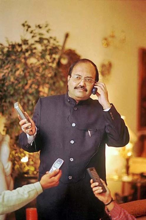 ठा. अमर सिंह के उस दौर की तस्वीर, जब उनका सपा में राज था।