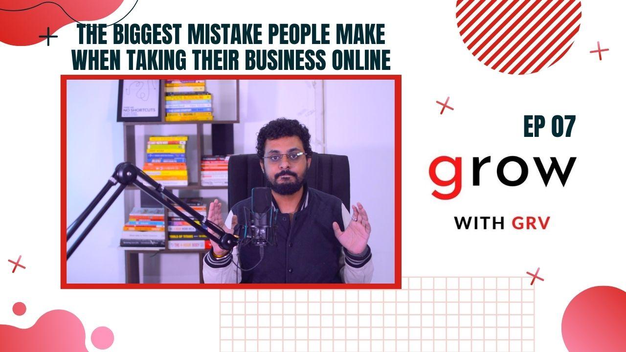 biggest mistake people make
