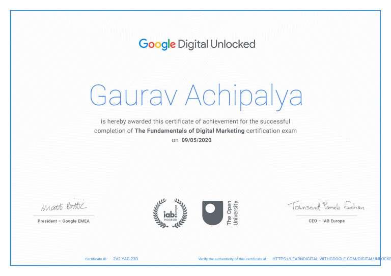 Gaurav - Google certificate (1)