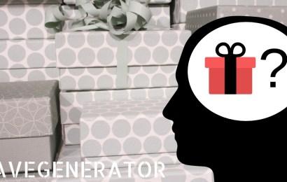 Gavegenerator – Generer de beste og mest personlige gavetipsene