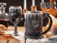Game of Thrones seidel og vinglass - House Stark Image