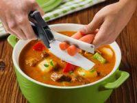 KitchPro Smart Cutter - saks med innebygd skjærebrett Image