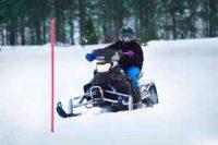 Kjør Snøscooter på Bane - Opplevelse Image
